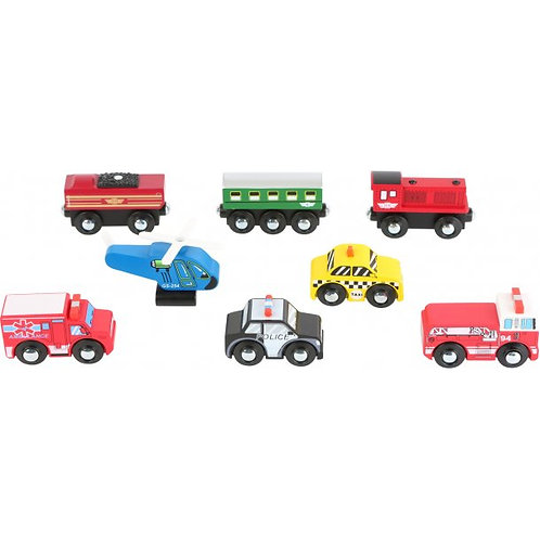 Smallfoot - Small wooden Vehicles (each)