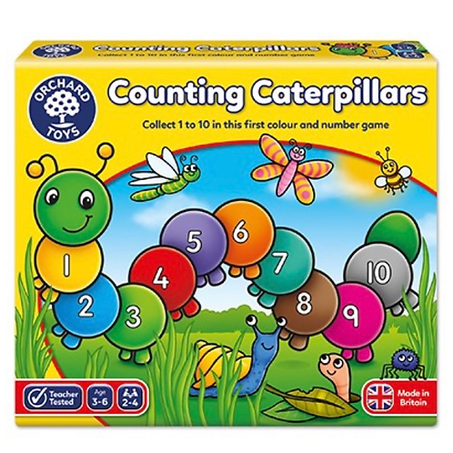 Counting caterpillars game orchard