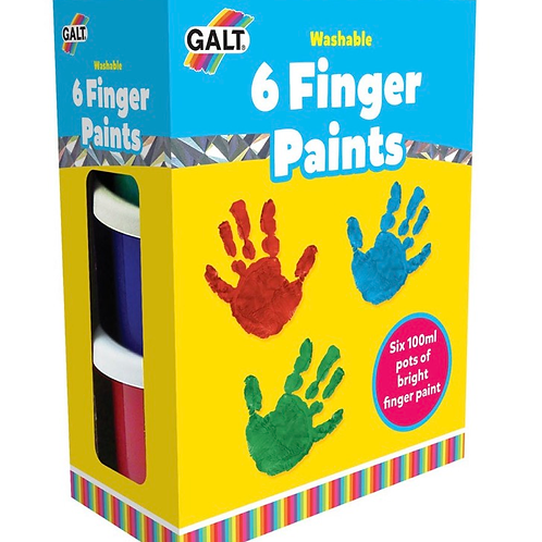 6 finger paints galt children art