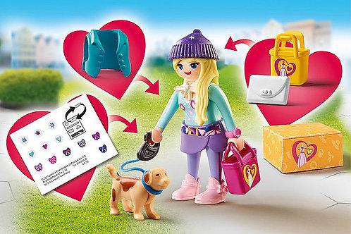Playmobil - Fashionista with dog