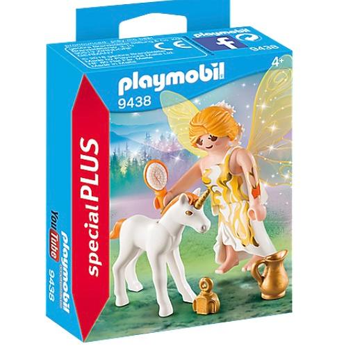 Fairy with unicorn toy figure playmobil