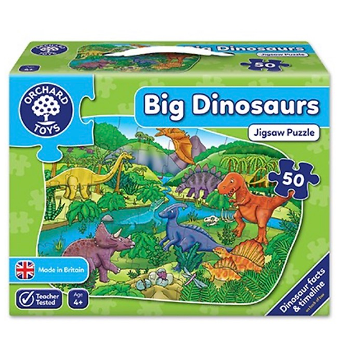 Orchard Jigsaw - Big Dinosaurs