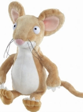Children Character - Gruffalo Mouse sitting 7in