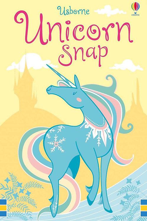 Unicorn snap cards usborne