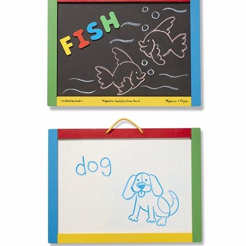 Magnetic letter board for kids