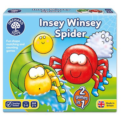 Orchard Game - Insey windsey spider
