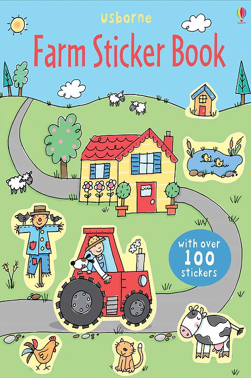 Usborne - Farm sticker book