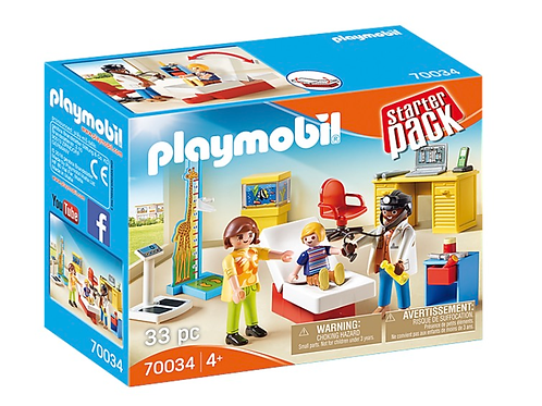 Pediatrician office toy figures playmobil