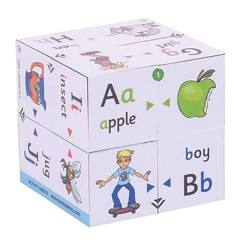 Bigjigs learning cube book alphabet