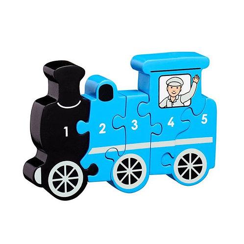 Lanka kade wooden jigsaw train numbers