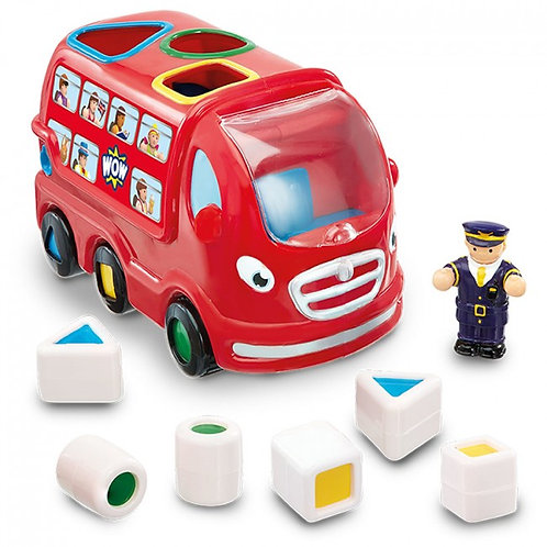 Wow toy shape sorting London bus
