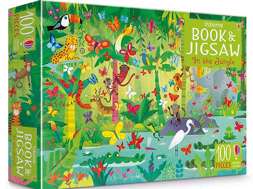 Usborne - In The Jungle book & jigsaw