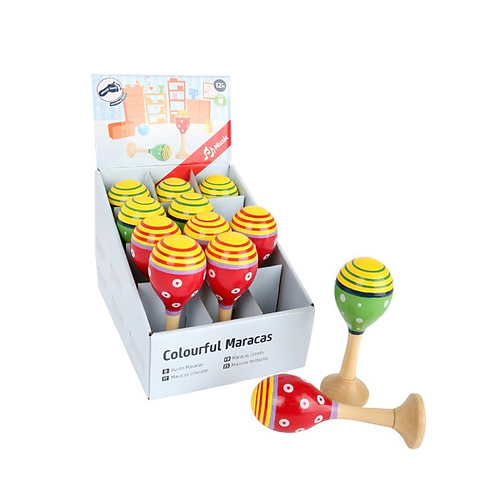 Smallfoot - Colourful Maracas (each)