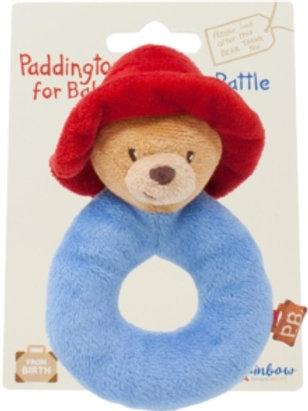 Baby items - Paddington ring rattle