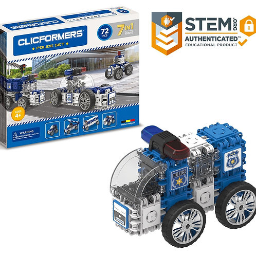 Magformers - Clicformers Police Set