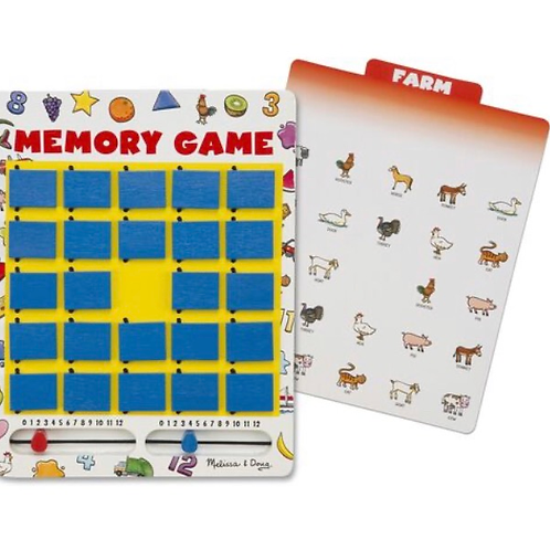 Flip to win memory game for kids melissa