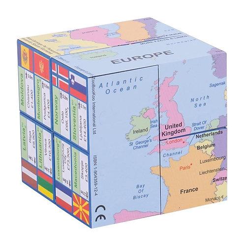 Bigjigs learning cube book europe