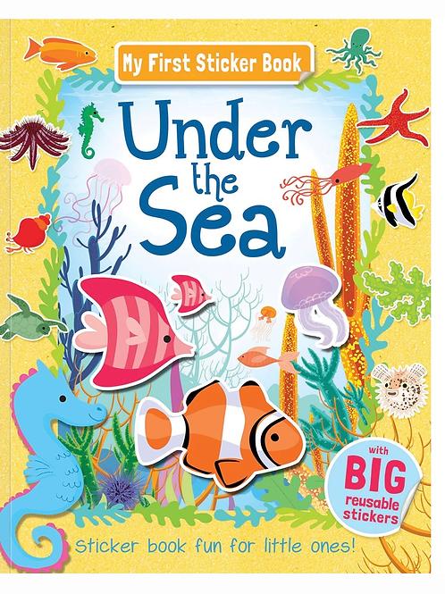 My first under the sea sticker book