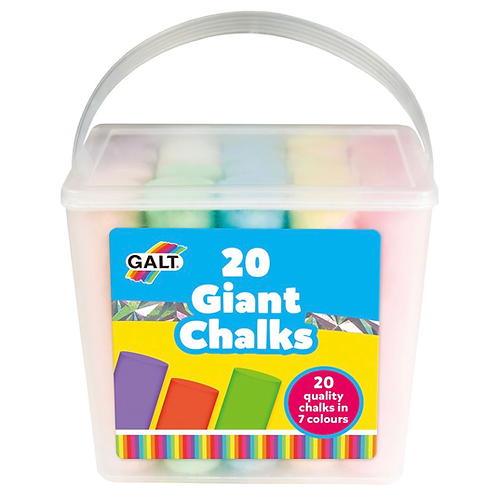 20 giant chalks galt children art