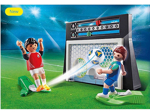 Football shoot out toy figure playmobil