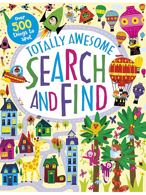 Totally awesome search and find book