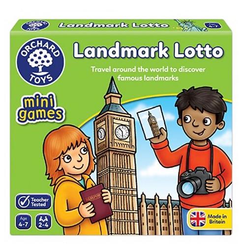 Landmark lotto game orchard