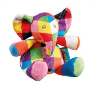 Baby Item - Elmer rattle