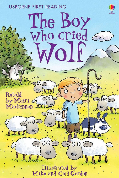 Usborne - The boy who cried wolf