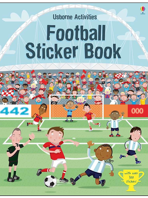 Football sticker book usborne for kids
