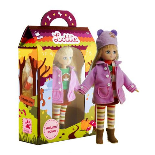 Lottie doll toy Autumn leaves in box