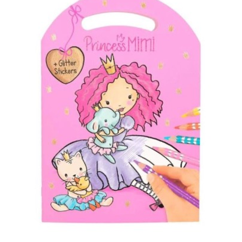 princess mimi colouring book depesche