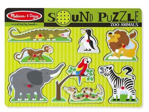 Zoo peg puzzle sound