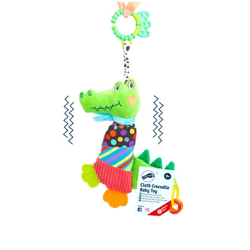 Smallfoot - Cloth crocodile baby toy