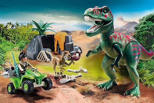 Explorer Quad with T-rex