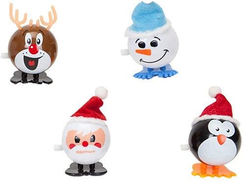 Wind-up Christmas characters