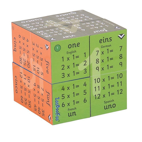 Bigjigs learning cube book multiplication