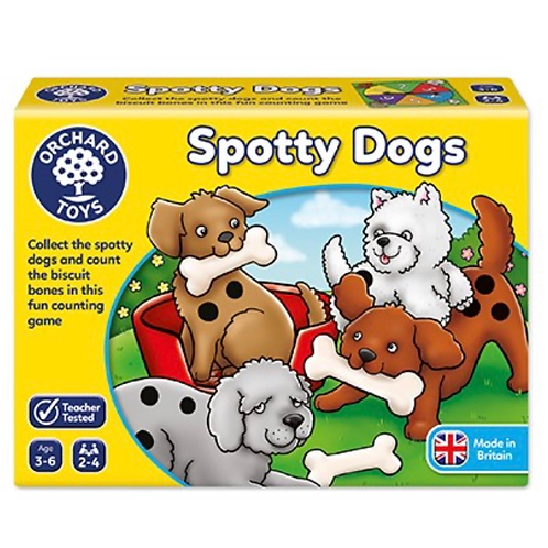 Spotty dogs game orchard