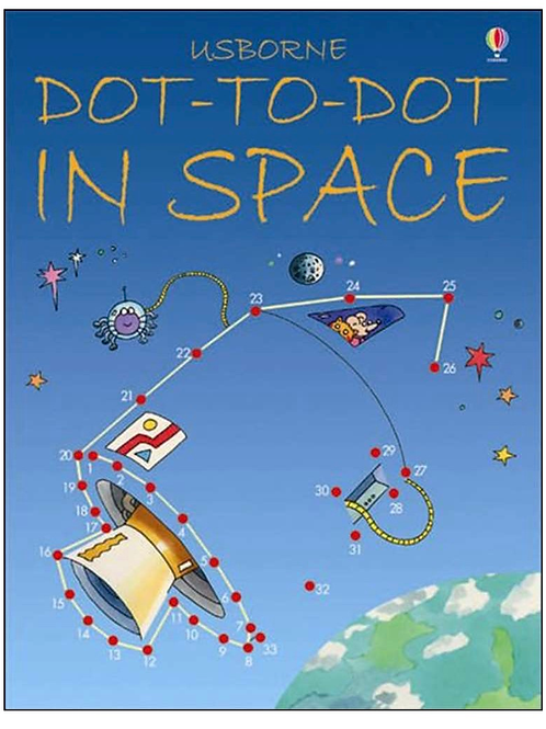 Space dot to dot book
