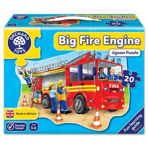 Orchard Jigsaw - Big Fire engine
