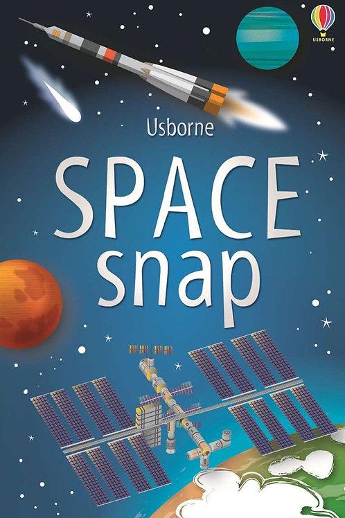 Space snap cards usborne