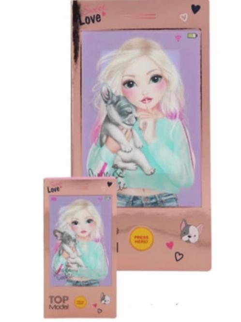 top model music notebook mini