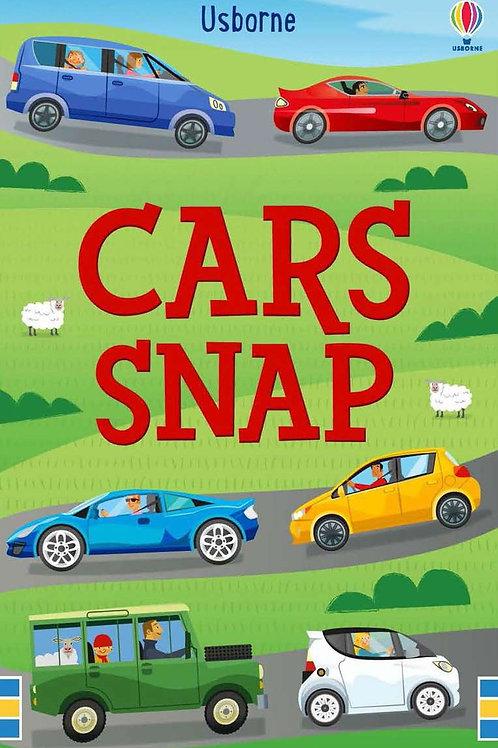 Cars snap cards usborne