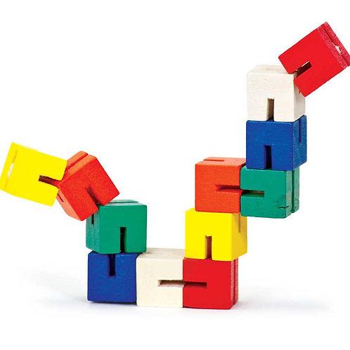Tobar wooden twisty fidget block