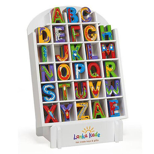 Lanka kade wooden name animal letters