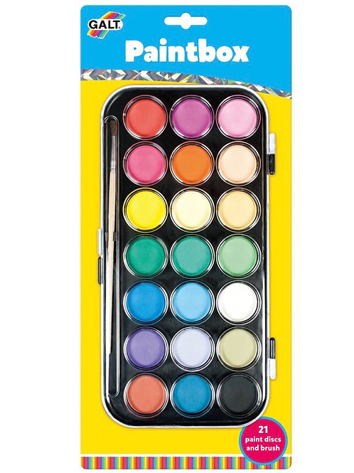 Galt paintbox colour palette children art
