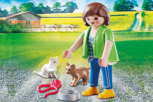 Playmobil - Girl with Kittens