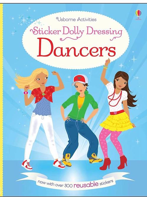 Dancers dolly sticker book usborne for kids