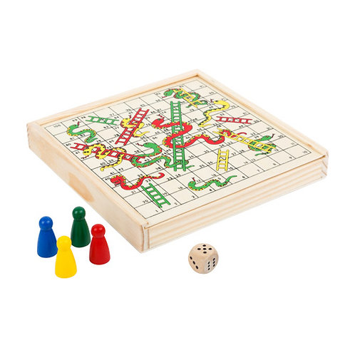 Small Foot Games - Snakes and ladders to go