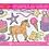 Jumbo colouring pad pink melissa for girls