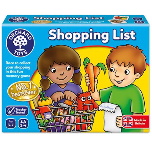 Orchard Game - Shopping List